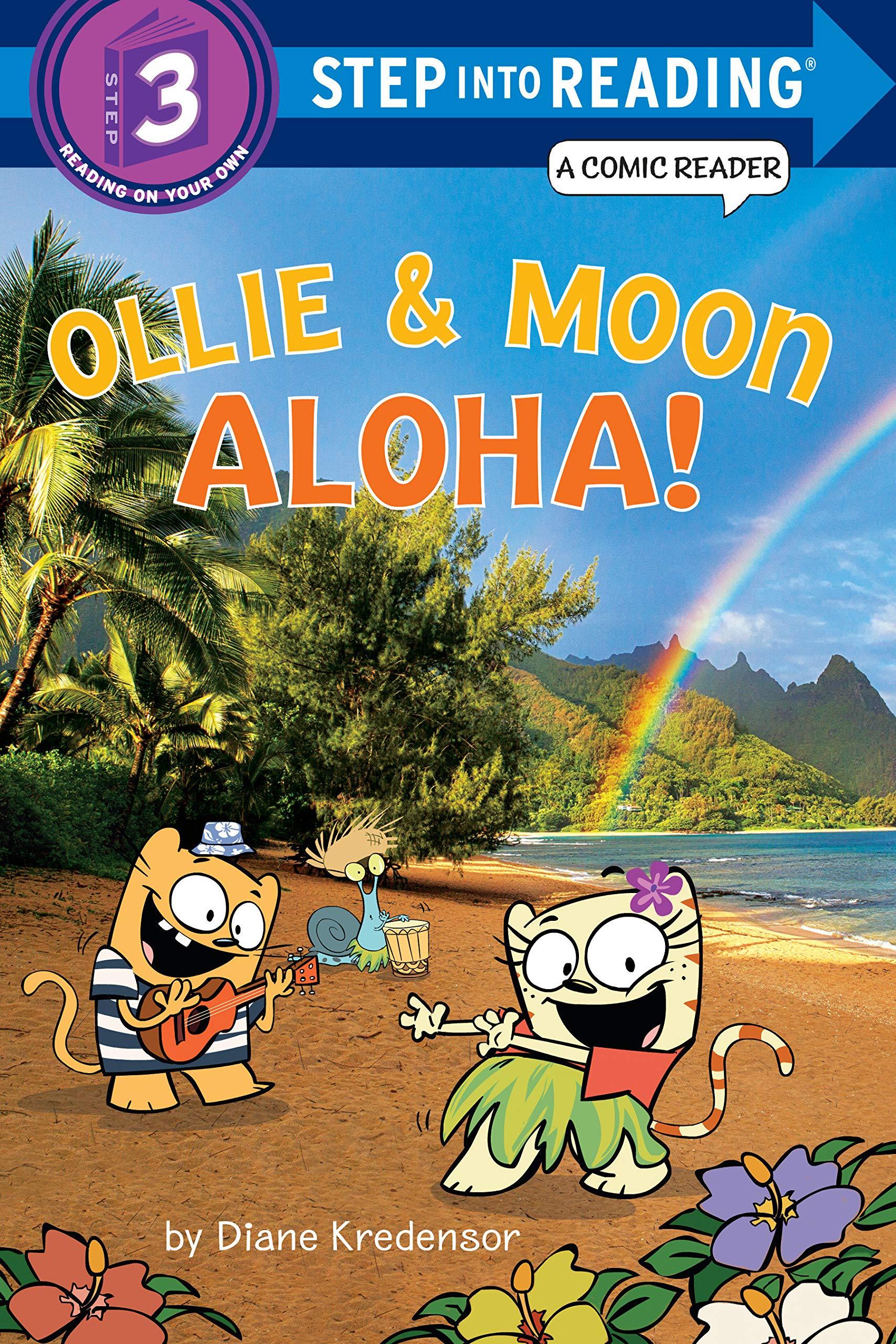 Read Online Ollie & Moon: Aloha! (Step into Reading Comic Reader) pdf epub