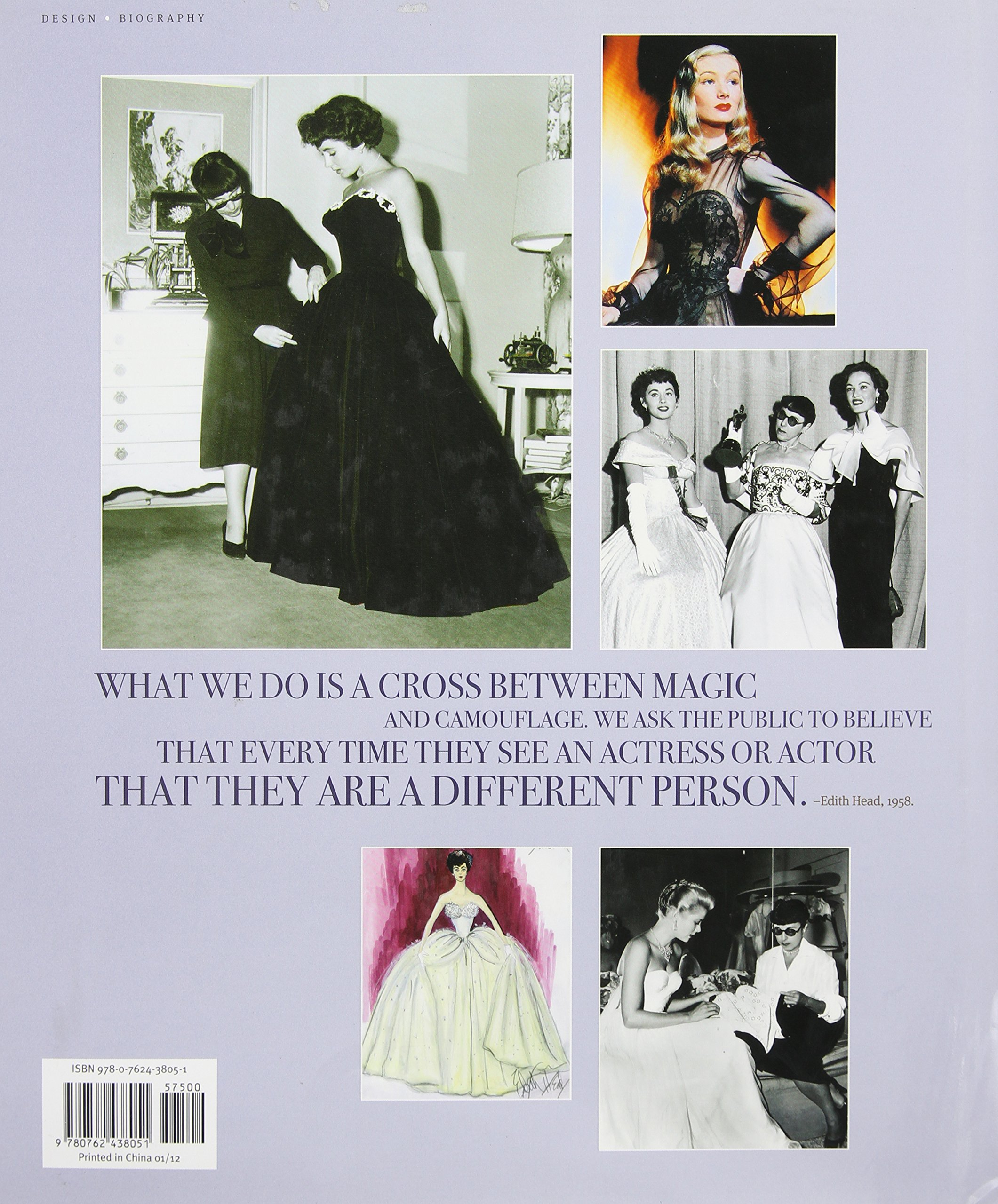 Edith Head: The Fifty-Year Career of Hollywood's Greatest Costume Designer by Running Press Adult