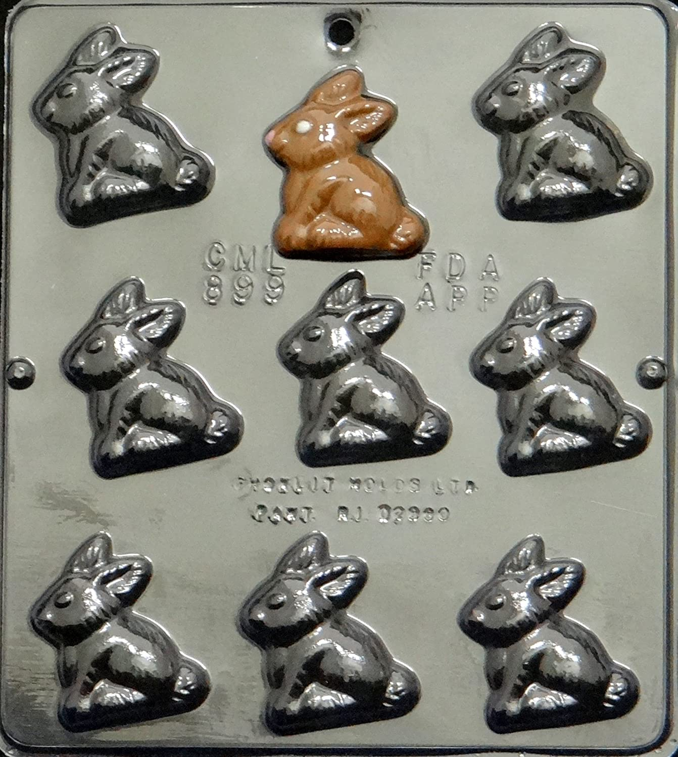 Bunny Chocolate Candy Mold Easter 899 NEW
