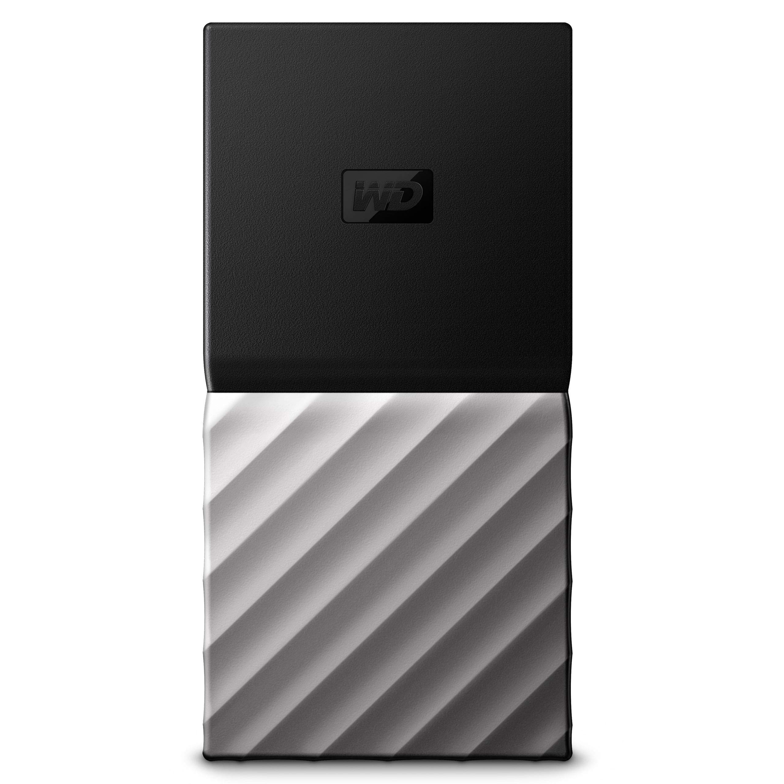 WD 1TB My Passport SSD Portable Storage - USB 3.1 - Black-Gray - WDBKVX0010PSL-WESN (Renewed)
