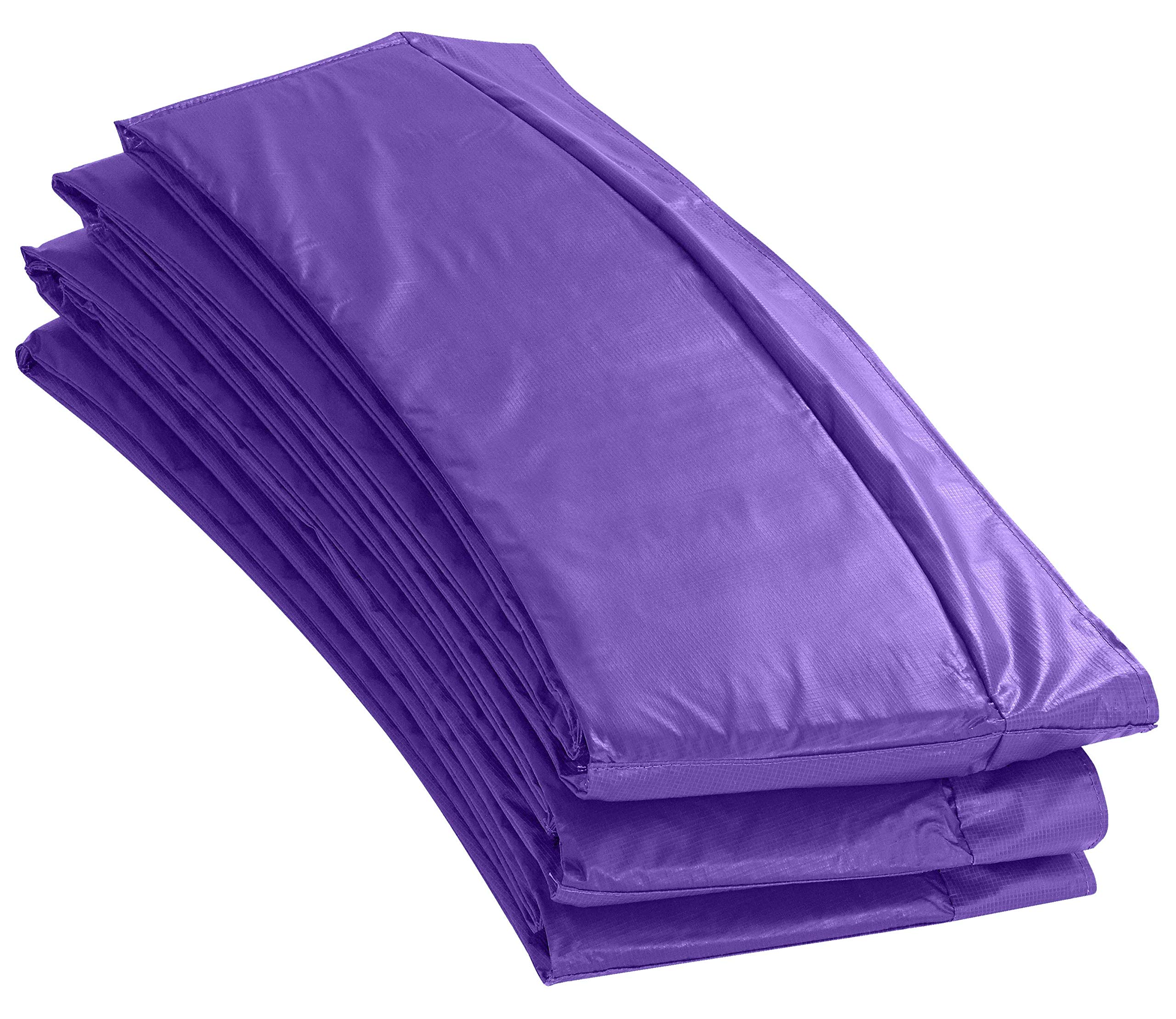 Upper Bounce Super Trampoline Replacement Safety Pad (Spring Cover) Fits for 11 FT. Round Frames - Purple by Upper Bounce