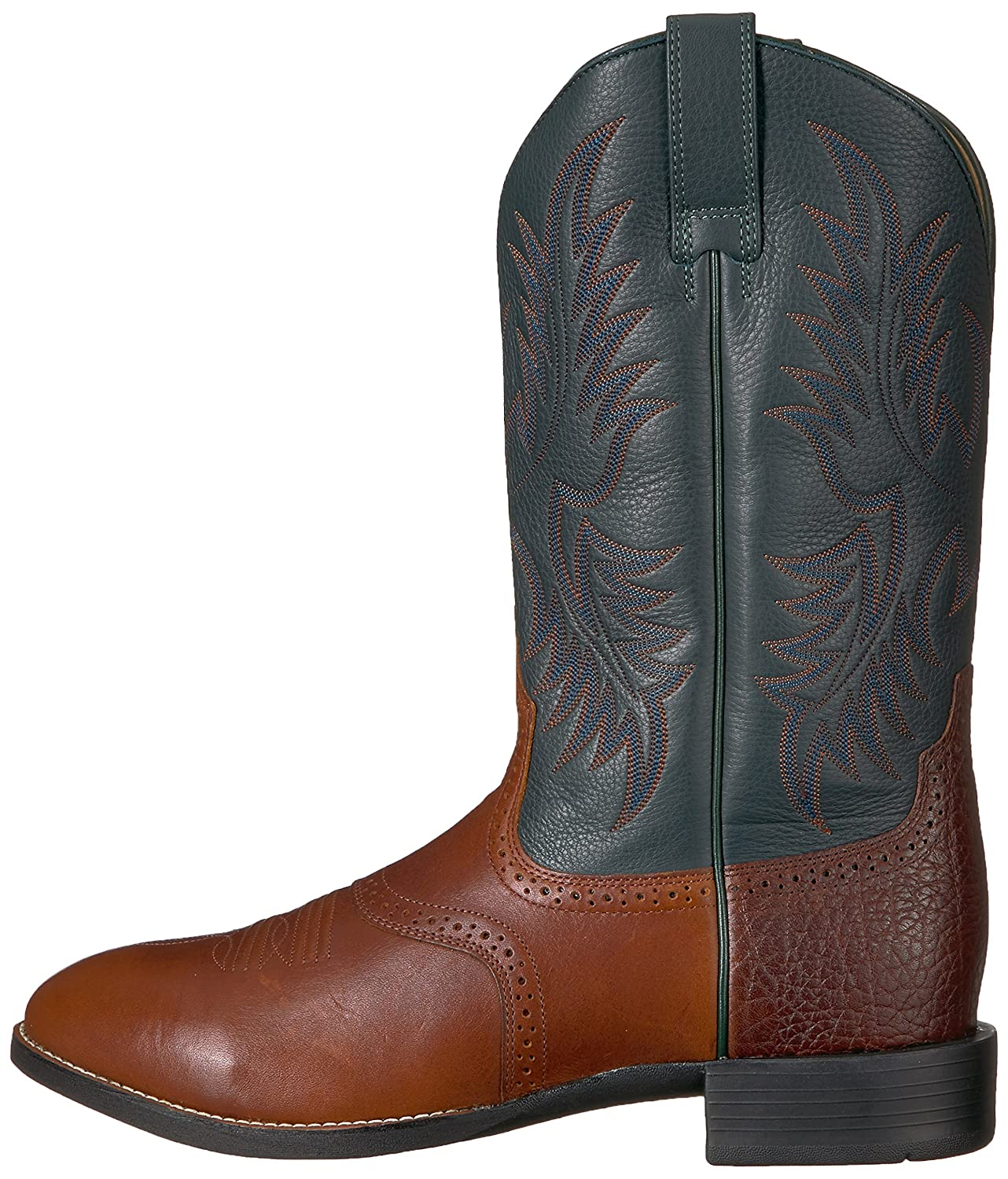 Ariat Men's Heritage Stockman Western Boot B000JWB7QU 9 D(M) US|Cedar/Green