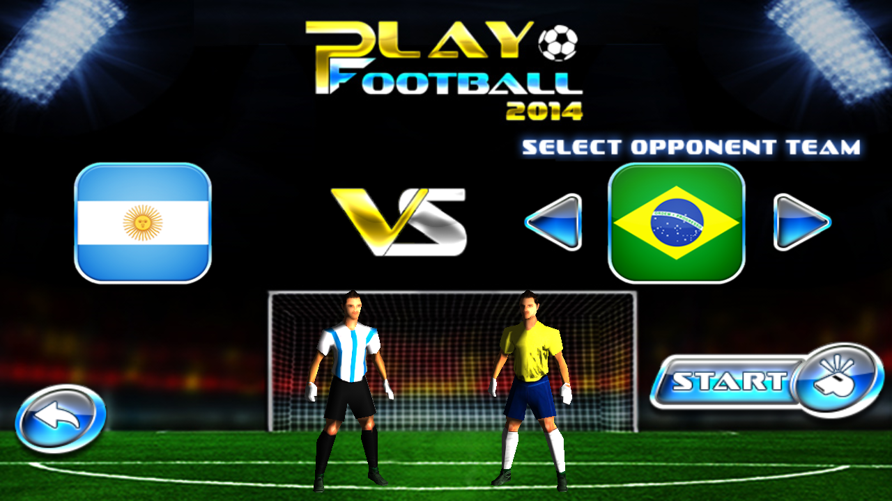 Download best football or soccer games for android in 2014 - Amazon Com Play Football 2014 Real Soccer Game 3d Appstore For Android
