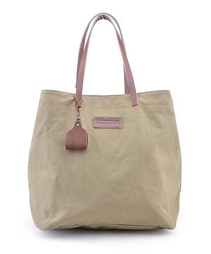 49a21f29029d1 Gootium 50921AMG Canvas Shopper Damenhandtasche
