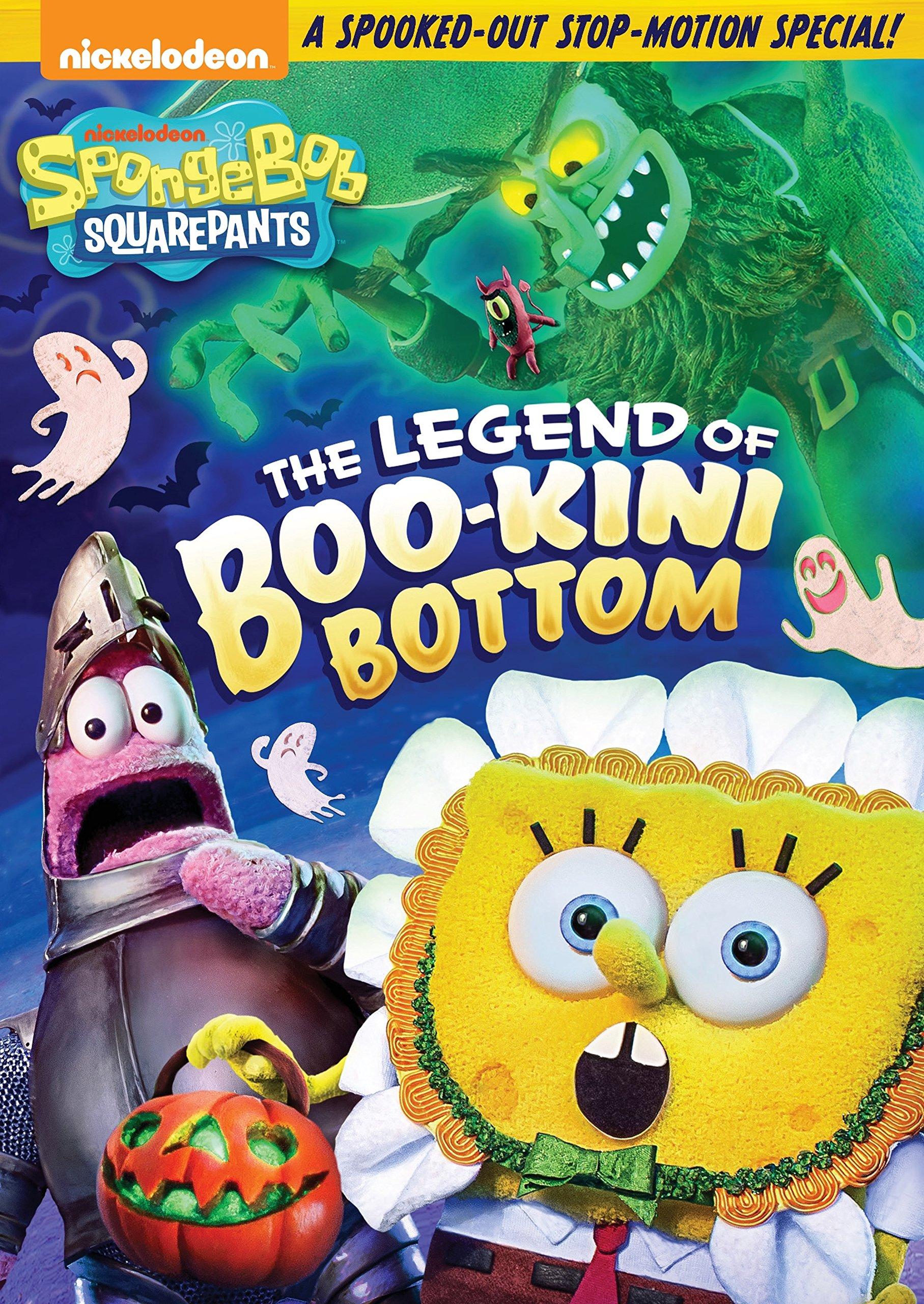 DVD : Spongebob Squarepants: The Legend Of Boo-kini Bottom (Amaray Case, Widescreen, Dubbed)