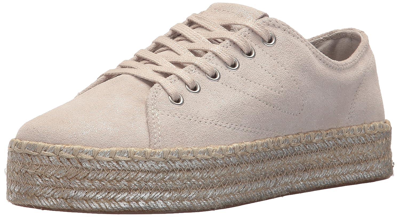 Tretorn Women's Eve2 Sneaker B074QVQX72 5.5 B(M) US|Birch / Silver