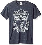 Fifth Sun Official Liverpool Fc Mono Color Logo Men's Tee