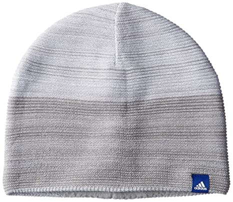free shipping 5a4d8 adf27 adidas Men s ID Climaheat Be 2CO Beanie, Medium Grey Heather White Mystery  Ink
