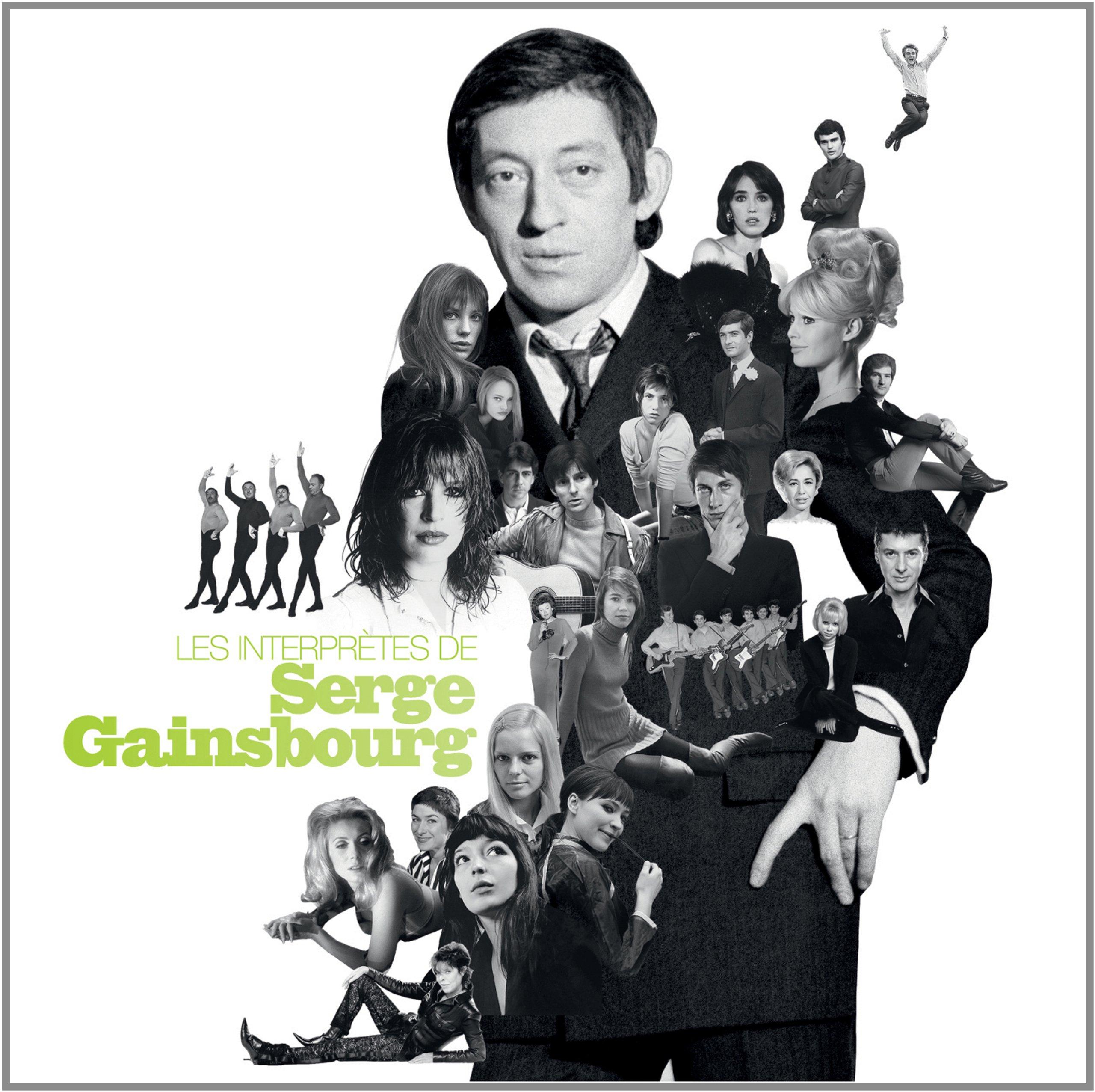 LES INTERPRETES DE SERGE GAINSBOURG by PID