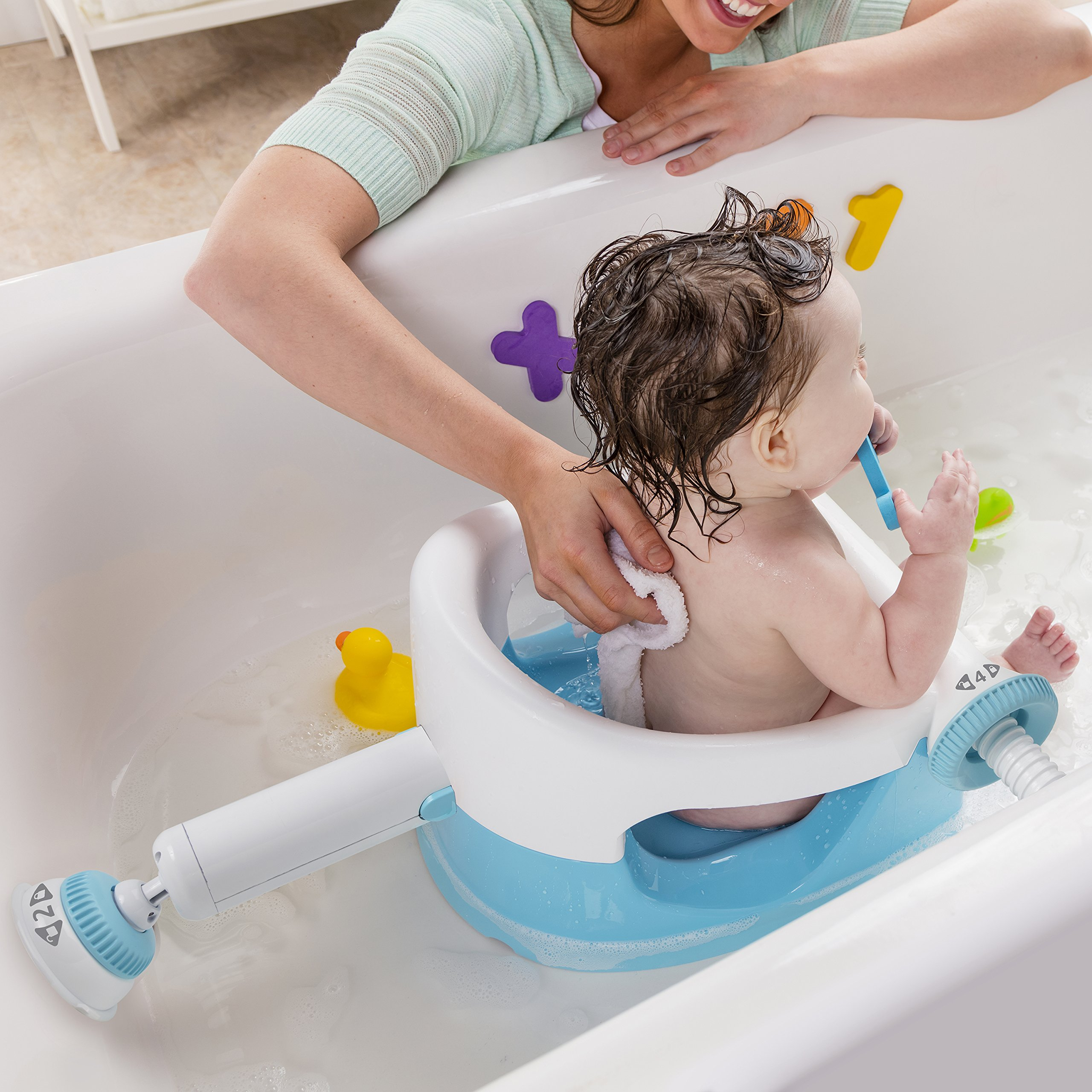 Summer Infant My Bath Seat, Baby Bathtub Seat for Sit-Up Bathing with Backrest Support and Suction Cups for Stability by Summer Infant (Image #5)