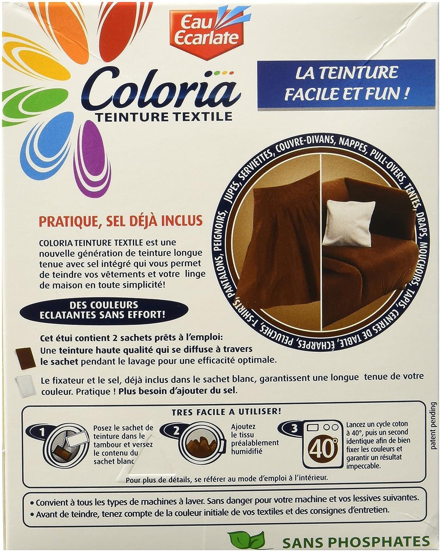 coloria teinture pour textiles maxi format avec sel inclus