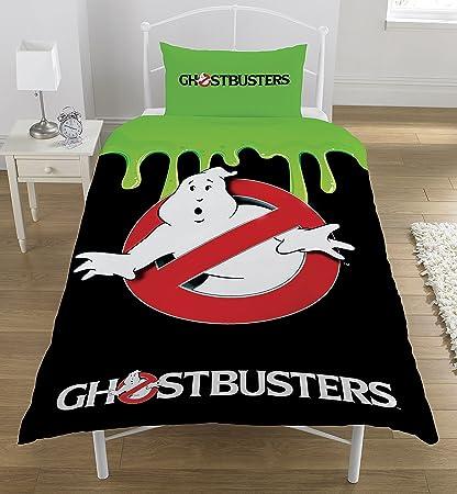 Ghostbusters Classic Set copripiumino, in poliestere e cotone, multicolore, singolo