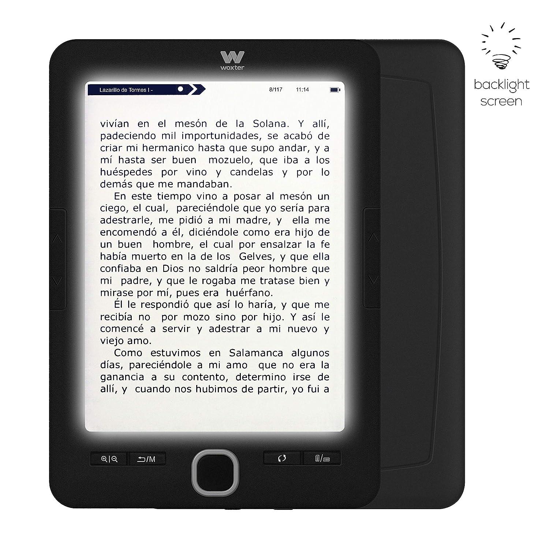 Woxter Scriba 195 - Lector de Libros Electrónicos de 6