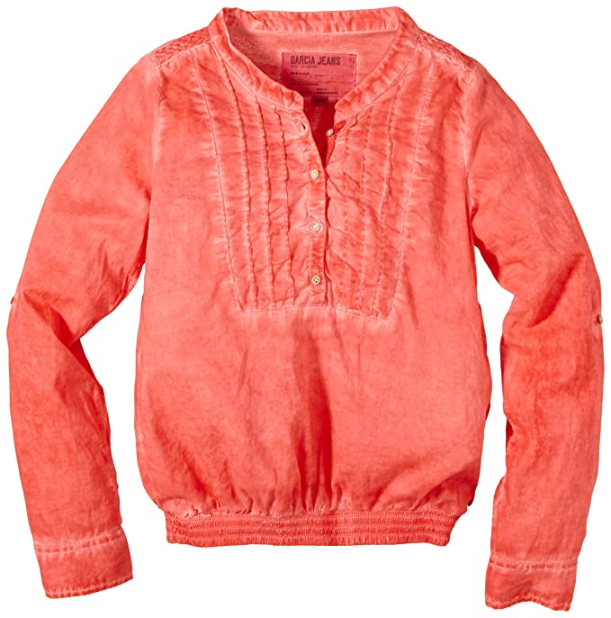 J.M. GARCIA GARCIA, S.A. Garcia B52631 - Blusa para niñas, color orange (peachy