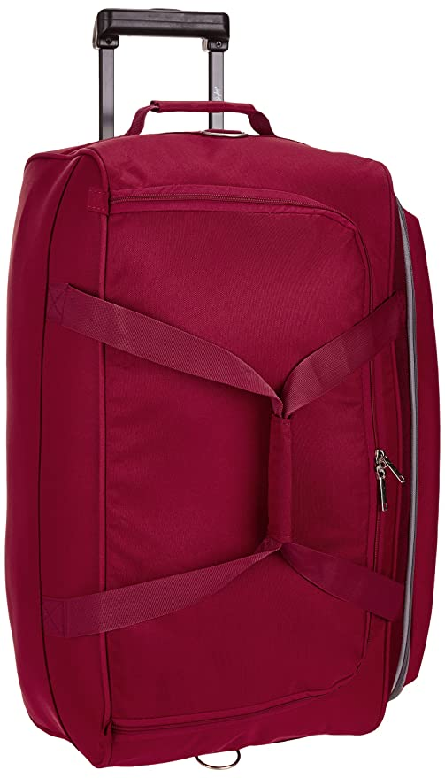 Skybags Cardiff Polyester 63.5 cms Red Travel Duffle (DFTCAR62ERED)   Amazon.in  Bags 70be0565229ef