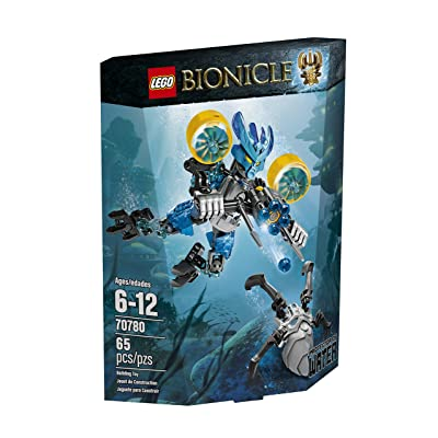 LEGO Bionicle 70780 Protector of Water Building Kit: Toys & Games