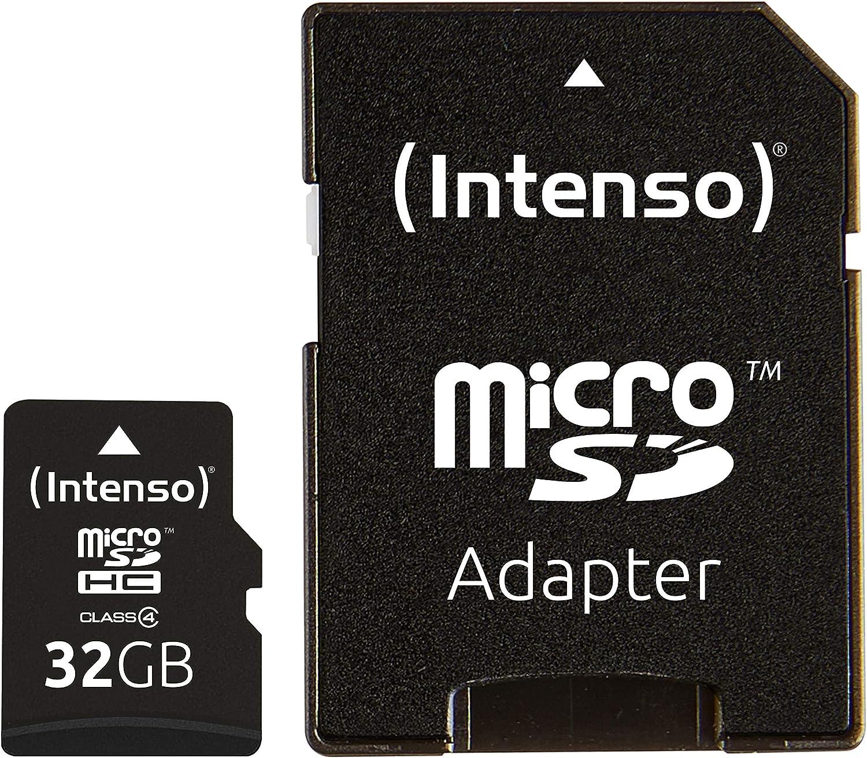 Intenso Micro Sdhc 32gb Class 4 Speicherkarte Inkl Computer Zubehör
