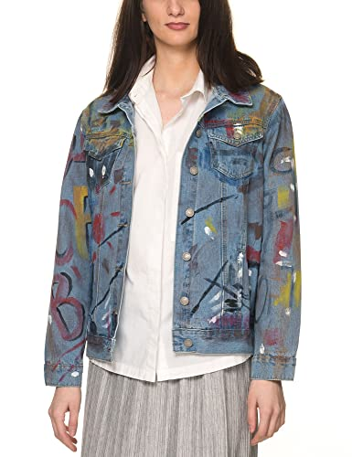 Glamorous - Chaqueta - para mujer multicolor Middle Blue Medium
