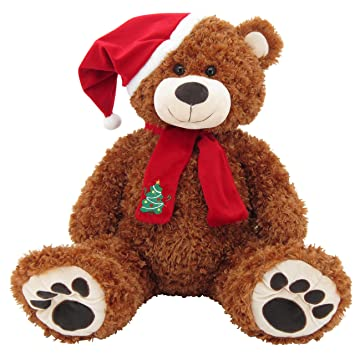 Sweety Toys 4744b XXL géant ourson Noël ours marron Teddy Ours ...