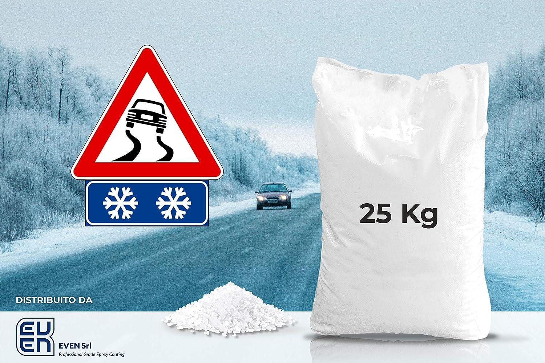 lavado y centrifugado Sal marina de cristales de 25 kg para descongelar la carretera y suavizar el agua alimentaria de alta calidad EVEN S.R.L