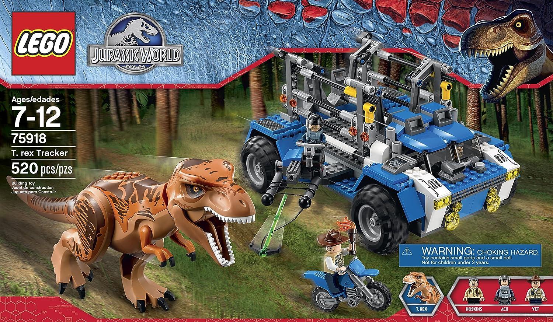 amazoncom lego jurassic world t rex tracker 75918 building kit toys games - Jurassic Lego