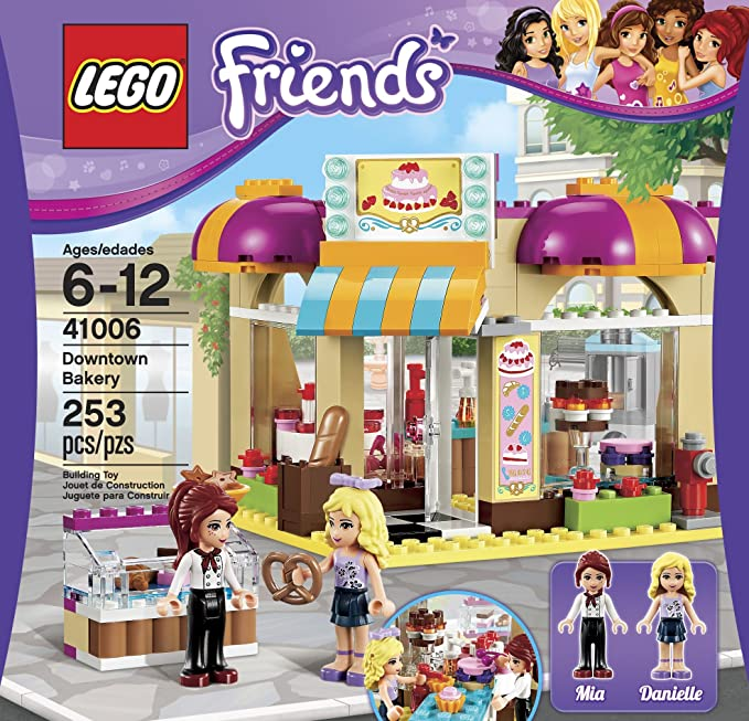 LEGO 41006 Used Friends Instruction Manuals Only