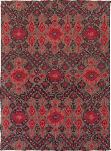 Surya Area Rug, 8 x 11 , Garnet