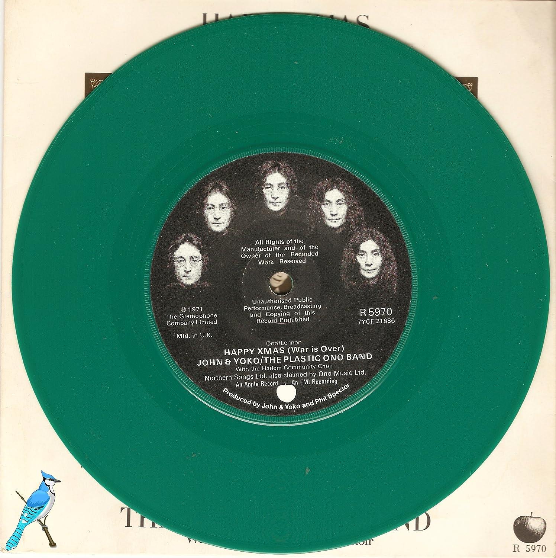 Happy Xmas (War is Over) / Listen, the Snow is Falling - 7 inch vinyl