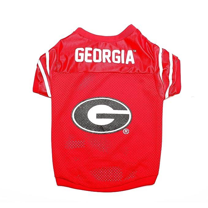 0d0c7add7a5 Amazon.com : Pet Goods NCAA Georgia Bulldogs Collegiate Pet Jersey, Large :  Pet Supplies