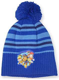 PAW PATROL Boys Knitted Beanie Winter Hats 5-8 years 54cm