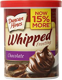 Duncan Hines Whipped Frosting, Chocolate, 14 oz