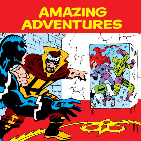 Amazing Adventures (1970-1976) (Issues) (39 Book Series)