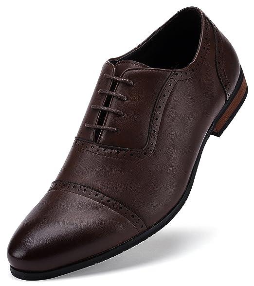 Amazon.com: Gallery Seven Oxford Zapatos de vestir para ...