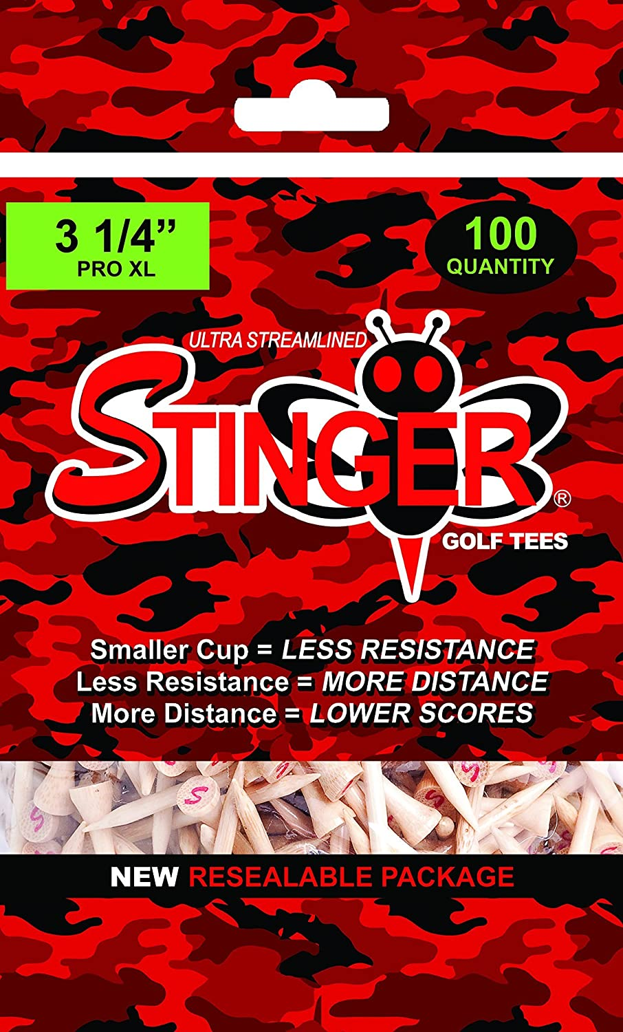 Stinger Tees Camo Mid Pack Poly Bag