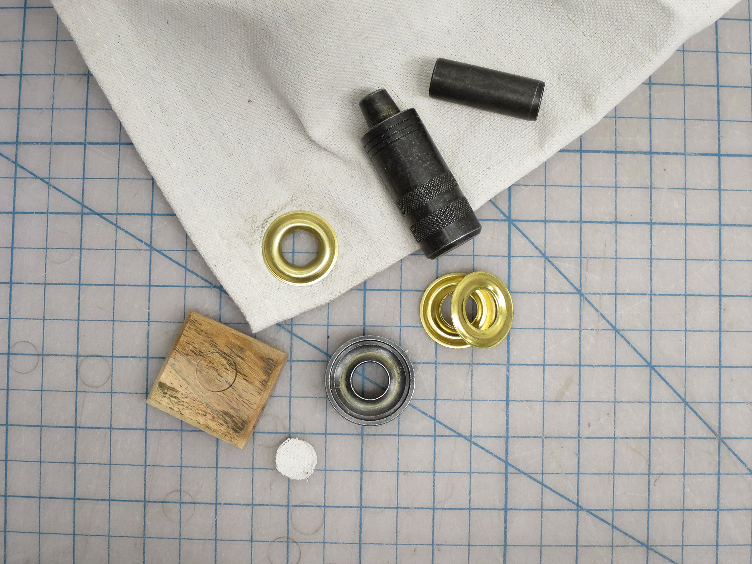 General Tools 1261-2 Rustproof Solid Brass, 3/8-Inch 3/8'' Grommet Refill, 24 Sets