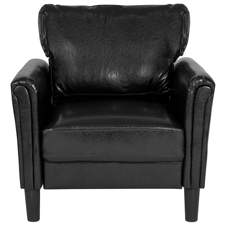 Amazon.com: Flash Furniture Bari - Silla tapizada (piel ...