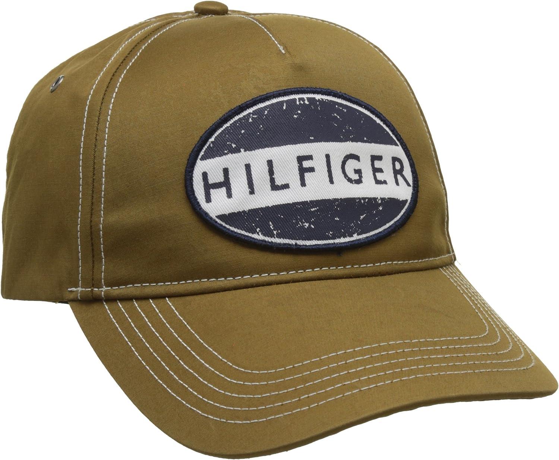Tommy Hilfiger Cap Gorra de béisbol, Marrón (Workwear 901), Talla ...