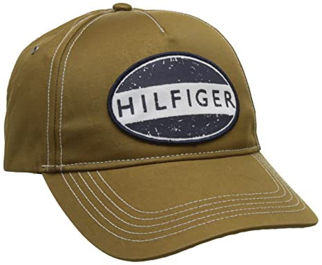 f1c81a0c Tommy Hilfiger Men's Baseball Cap, Brown (Workwear 901), One (Size ...