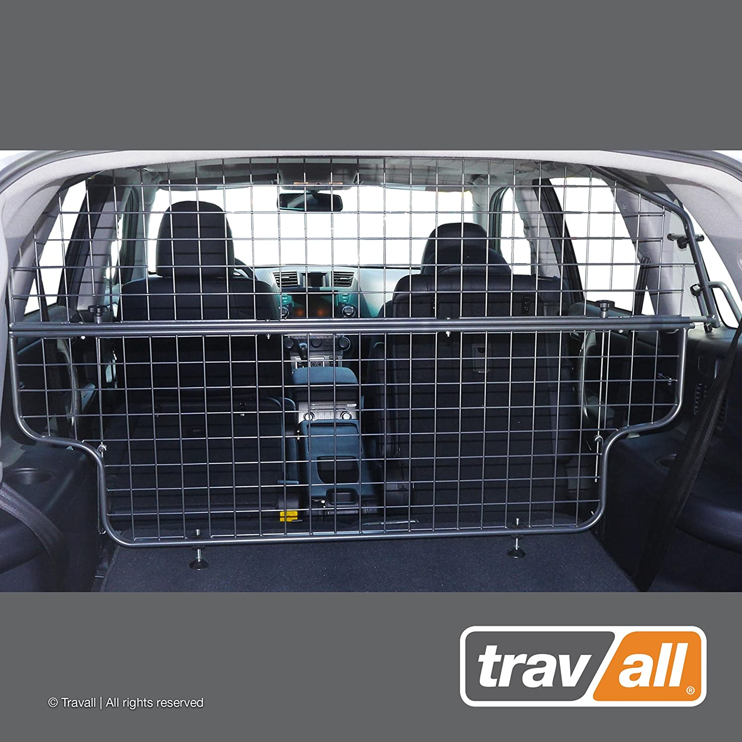 Travall Guard Compatible with Toyota Highlander 2007-2013 TDG1439 – Rattle-Free Steel Pet Barrier