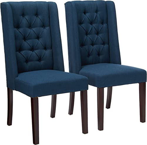 Christopher Knight Home Blythe Tufted Fabric Dining Chairs 302442