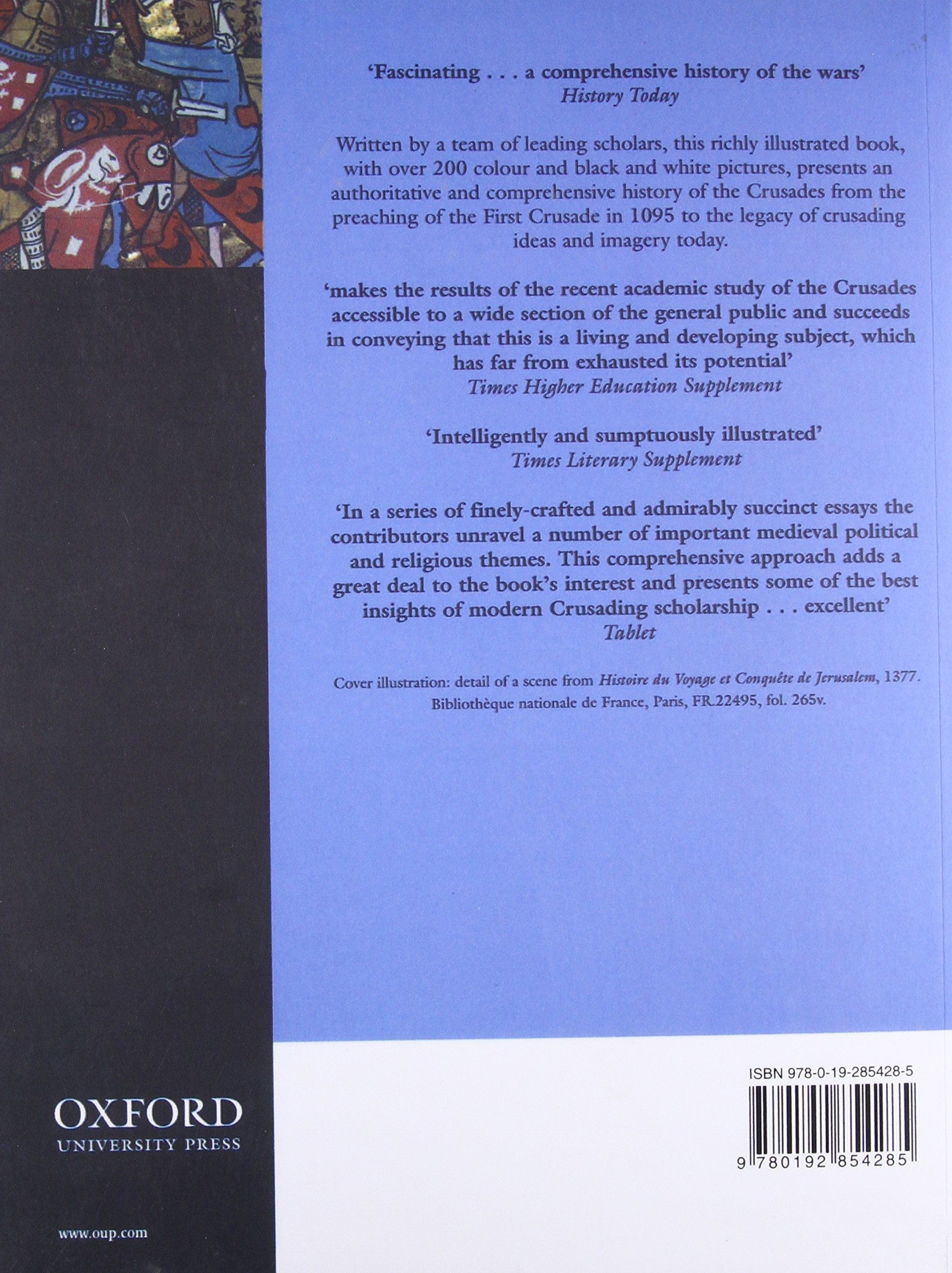 the oxford illustrated history of the crusades jonathan riley  the oxford illustrated history of the crusades jonathan riley smith 9780192854285 com books