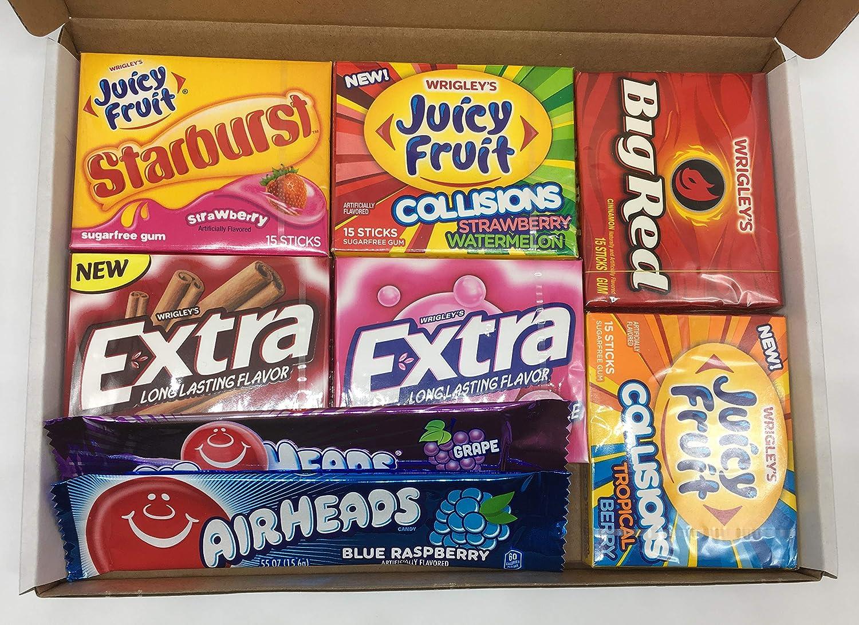Sweets Heaven - Caja de regalo con selección de chicles americanos ...