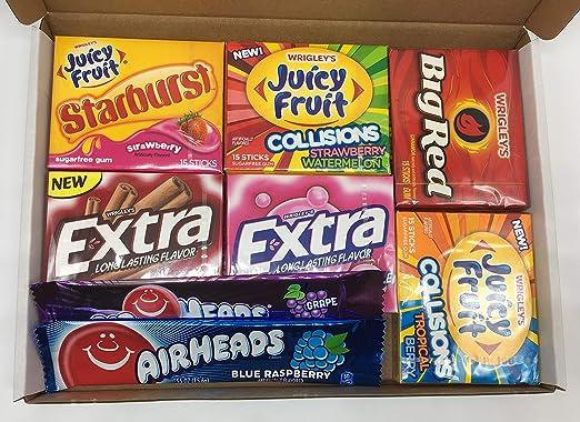 Sweets Heaven - Caja de regalo con selección de chicles americanos de la marca 24/7 Shopping Zone: Amazon.es: Alimentación y bebidas