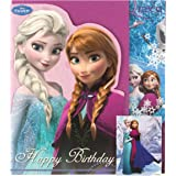 Disney La Reine des neiges Carte et enveloppe