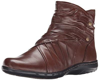 Rockport Cobb Hill Women's Pandora Boot Chocolate 8 M US
