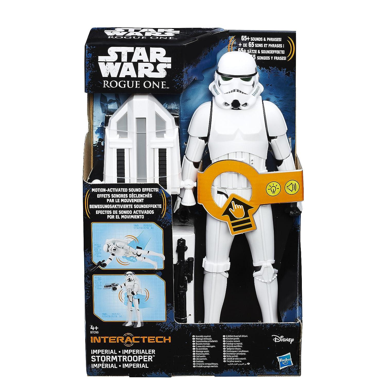 Hasbro Star Wars B7098100 Interaktiver Imperialer 12 Zoll Stormtrooper, Actionfigur