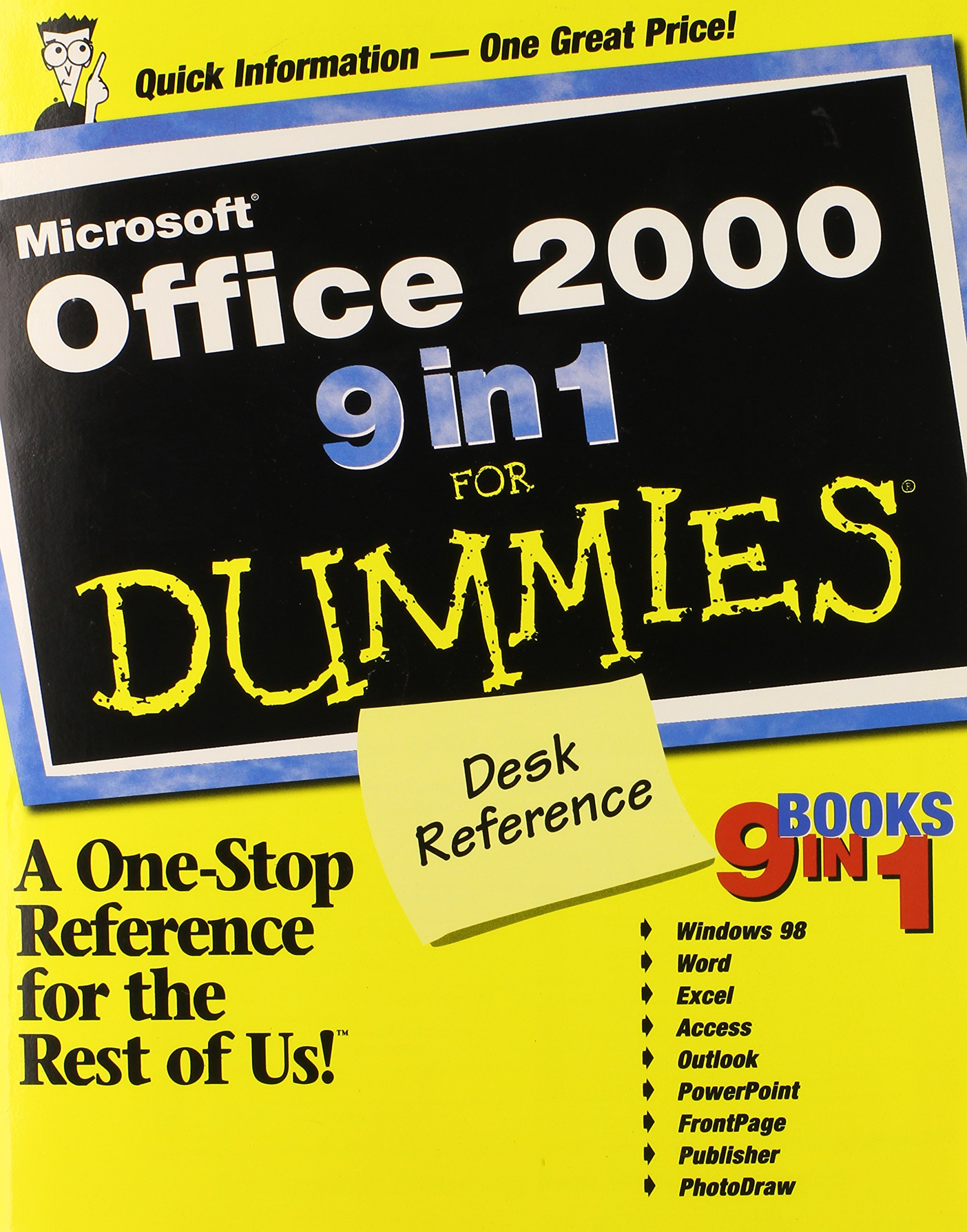 Buy Microsoft Office 9 9 in 9 For Dummies Desk Reference Book ...