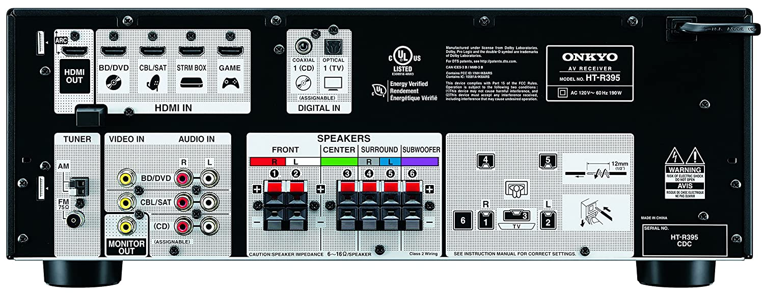 onkyo ht s3800 5 1 channel home theater package amazon in electronics rh amazon in