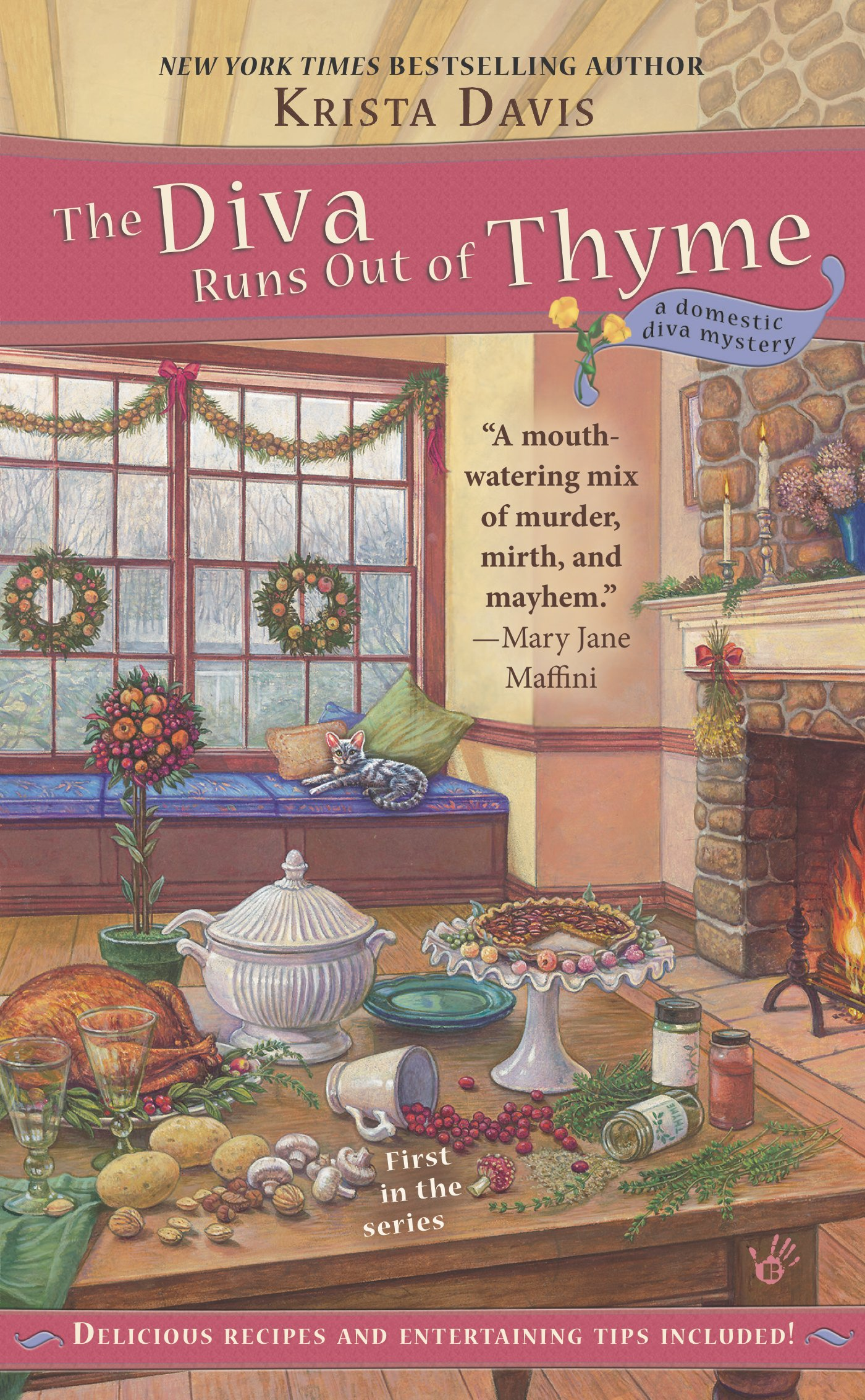 amazon com the diva runs out of thyme a domestic diva mystery