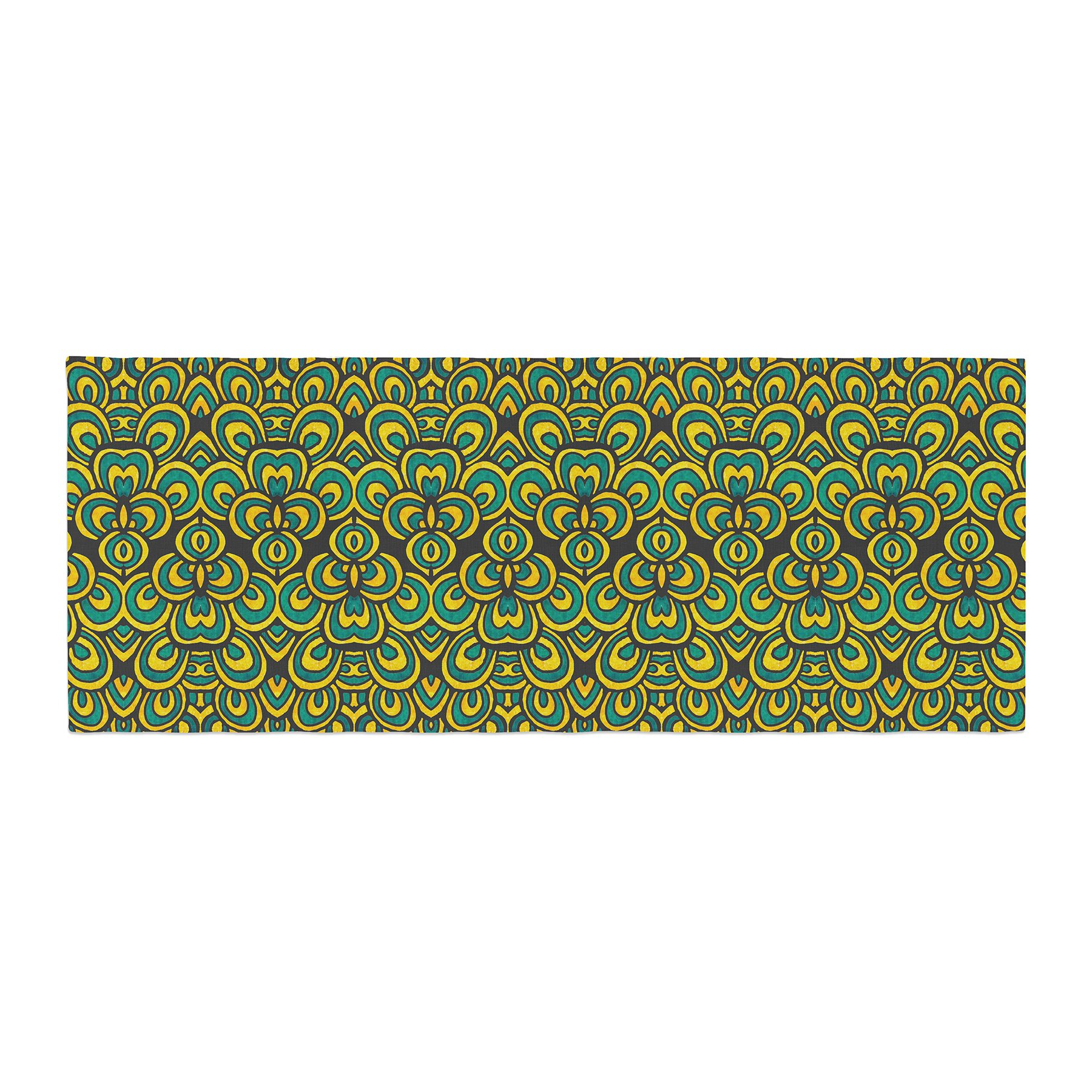 Kess InHouse Pom Graphic Design Animal Temple II Bed Runner, 34'' x 86''